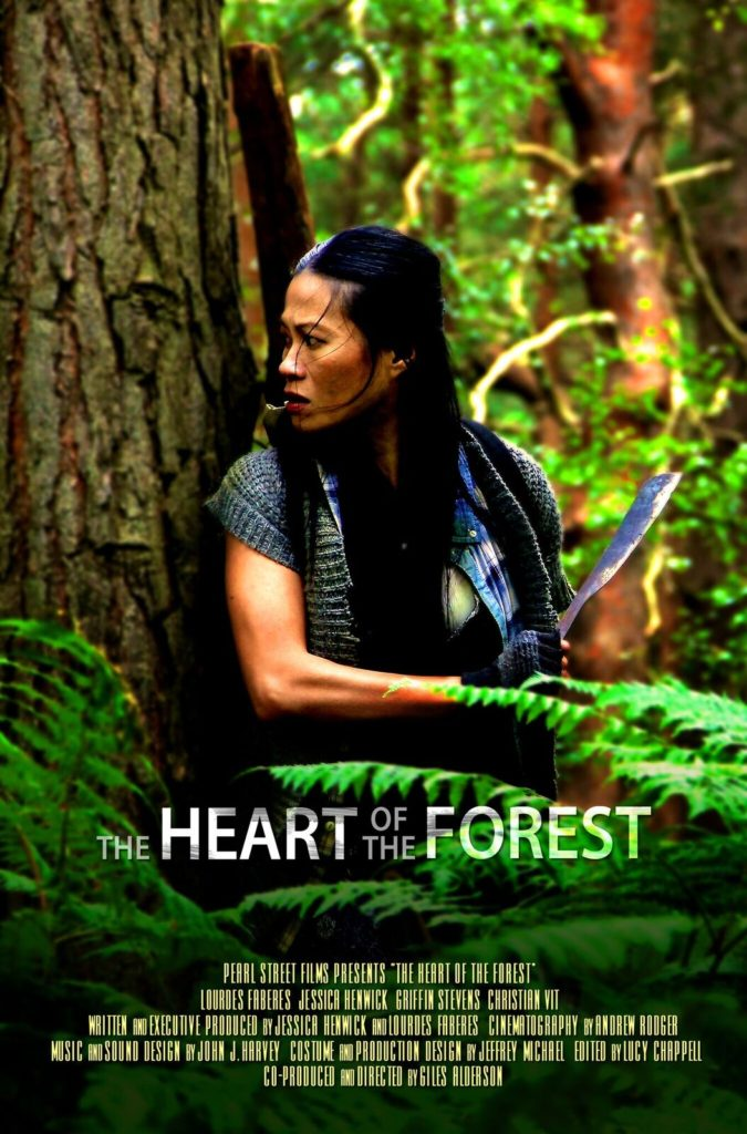 Poster for the Heart of the Forest