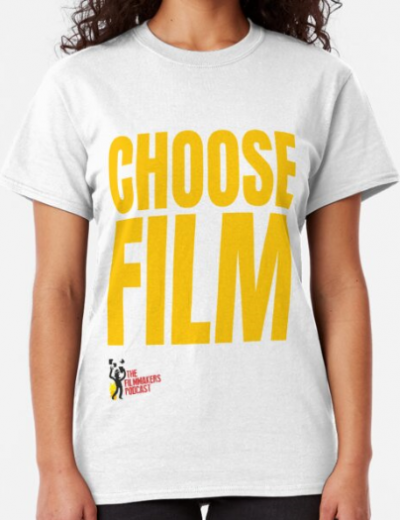 CHOOSE FILM With Logo Classic T-Shirt