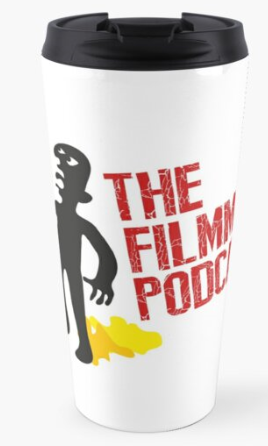 Large Logo Megaphone Travel Mug