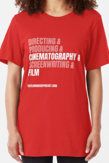 Cinematography and Film Slim Fit T-Shirt