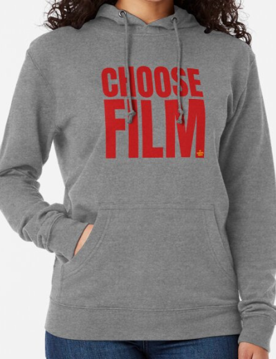 CHOOSE FILM Lightweight Hoodie
